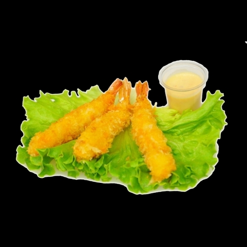 Crevette tempura